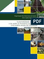 Sustentabilidade ambiental  e de saúde na Amazônia Legal, Brasil  Uma análise através de indicadores
