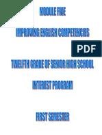Materi Pembelajaran kls 12 Semester 1