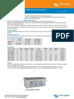 Datasheet-AGM-Super-Cycle-battery-EN