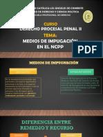 PRESENTACIÓN SOBRE MEDIOS IMPUGNATORIOS.pptx