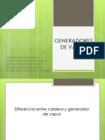 EXPOCICION DE RENE GENERADOR DE VAPOR
