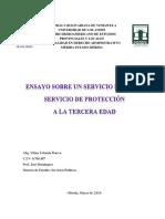 ENSAYO de servicios públicos