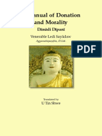A Manual of Donation and Morality by Ledi