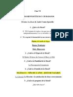 Clase VI de Fundamentos Éticos
