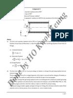 ME549 Computational Fluid Dynamics Assignment 1