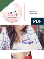 Catalogo de Productos 2God Tejidos 2020
