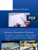 Disuniting of Structure