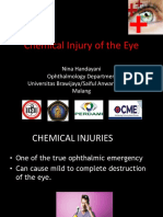 chemical injury of the eye
