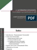 Informe Preliminar del Comité de Representación Estudiantil