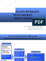 SURVEILANS PENYAKIT BERBASIS MASYARAKAT