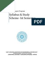 4-Year-Degree-Scheme-Syllabus-First-Sem
