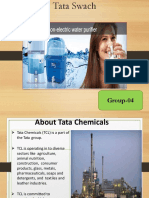 Case study presentation on Tata Swach