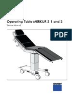 Trumpf Merkur 2.1 and 3 Manual de Servicio