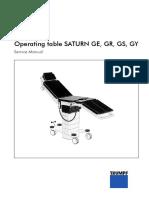 Trumpf GE, GR, GS, GY Manual de Servicio