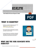 Twin Health Best Diabetes Reversal Program in India