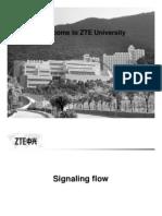 ZTE Signaling Flow