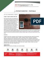 HALF-CELL-POTENTIOMETER---PORTABLE