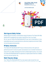 Mobile Wifi Guide