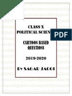 CLASS X POLITICAL SICENCE CARTOON SOLUTIONS BY SAGAR JAGGI