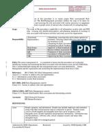 Procedure on Risk Management (1)