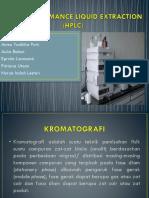 High Performance Liquid Extraction (HPLC)