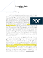 Demonolatry Basics by F.V.Fargas