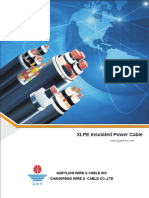 XLPE Insulated Power Cable - Garylion Cable