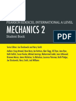 Free PDF (link in description) Edexcel International A Level Mechanics 2 Students book