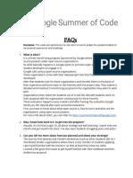 GSoC-FAQs