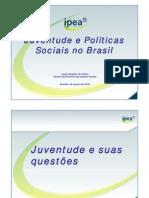 Juventude e Politicas Sociais No Brasil