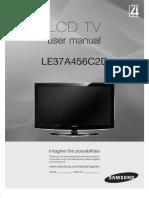 Samsung  LE37A456C2D