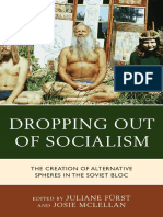 Dropping Out of Socialism_ The - Juliane Furst