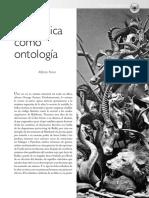 la poética como ontología