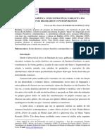 A ESCRITA DIARÍSTICA COMO ESTRATÉGIA NARRATIVA EM ROMANCES BRASILEIROS CONTEMPORÂNEOS