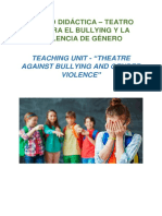 THEATRE AGAINST BULLYING AND GENDER VIOLENCE