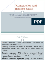 C & D Waste