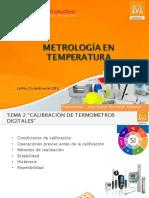 METROLOGIA EN TEMPERATURA Parta Nro. 2