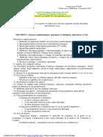 Programme Juillet2009
