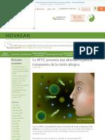 La MTC presenta una alternativa para el tratamiento de la rinitis alérgica - Novasan Blog