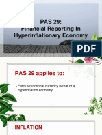 PAS 29 Finanacial Reporting in Hyperinflationary Economies