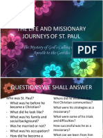 The Life and Missionary Journeys of St. Paul