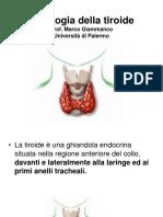 Fiologia Della Tiroide Prof. Marco Giammanco