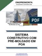 Sistema Construtivo Com Pré-Moldado Em Poá