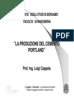 33180-Lezione 6 - la produzione del cemento Portland