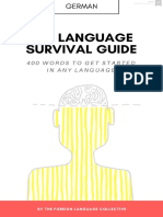 The German Language Survival Guide