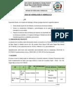 ESTUDIO DE HIDROLOGIA E HIDRAULICA .doc