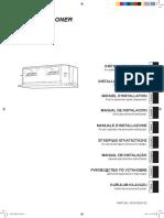 Fujitsu Klima Uredjaj Kanalski Inverter Aryg54lhta Installation Manual