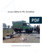 Road Safety is NO Accident - MoRTH