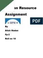 International Human Resource Project