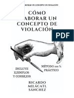 COMO ELABORAR 2019 CONCEPTOS DE VIOLACION